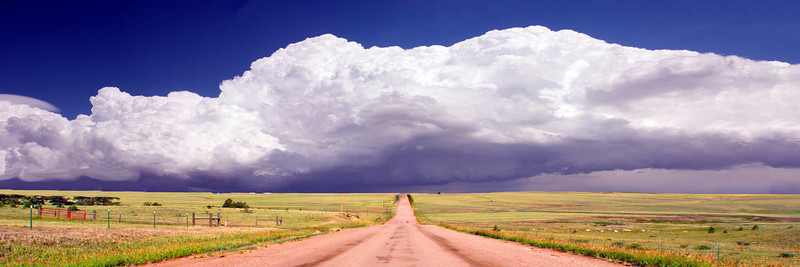 Storm Clouds on the Prairie