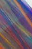 Streaks of dark colors make vertical bands and tightly laced abstract colors