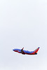A Southwest Airlines 737 is seen taking off from Seattle-Tacoma International Airport