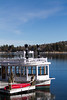 Ferry boat at Lake Arrowhead Reservoir - USA - California - Lake Arrowhead