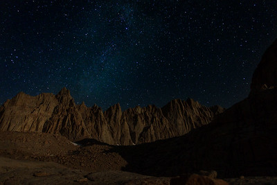 Mount Whitney And The Milky Way