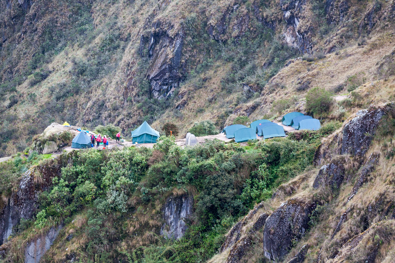 Camping at Machu Picchu - Cusco Region - Peru