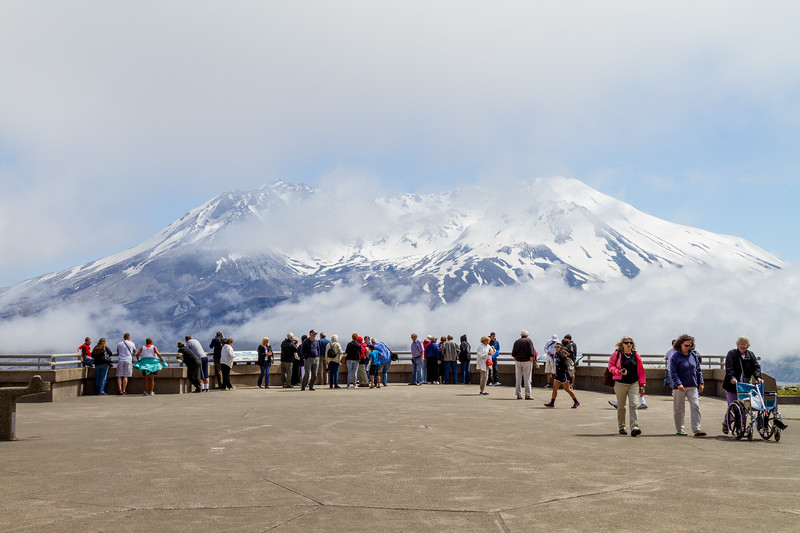 Mount St. Helens from Johnston Ridge Observatory - USA - Washington