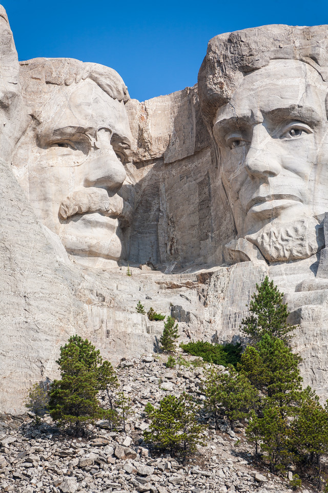 Mount Rushmore National Monument near Keystone, South Dakota