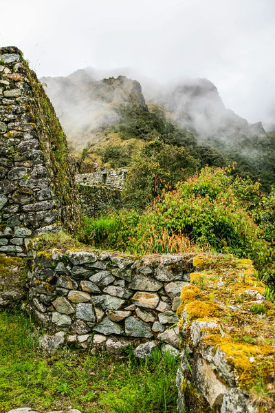 Ruins at Machu Picchu - Cusco Region - Peru