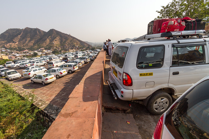 Cars in parking area - Asia - India