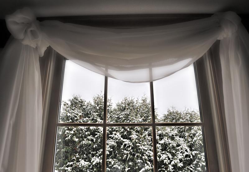 Draped Snowfall
