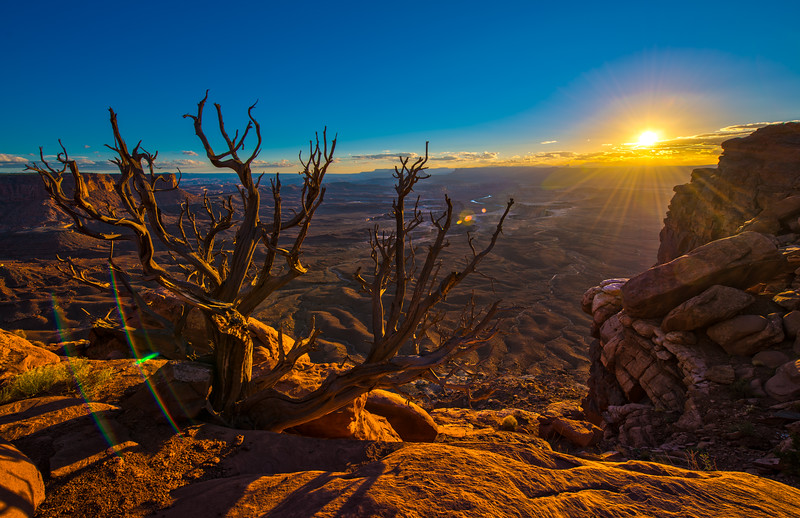 Sunset Over Canyonlands National Park, Utah, USA