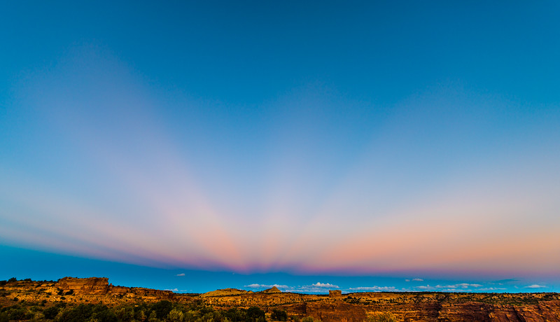 Just After Sunset, Canyonlands National Park, Utah, USA