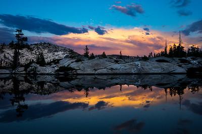 Sunset After A Thunderstorm