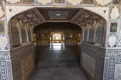 Interior of Amer Fort palace - Asia - India - Rajasthan - Jaipur