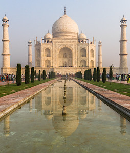 View of Taj Mahal - India - Uttar Pradesh - Agra