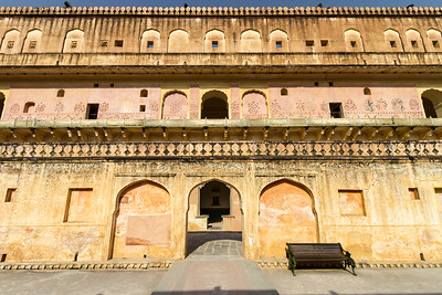 View of Amer Fort - Asia - India - Rajasthan - Jaipur