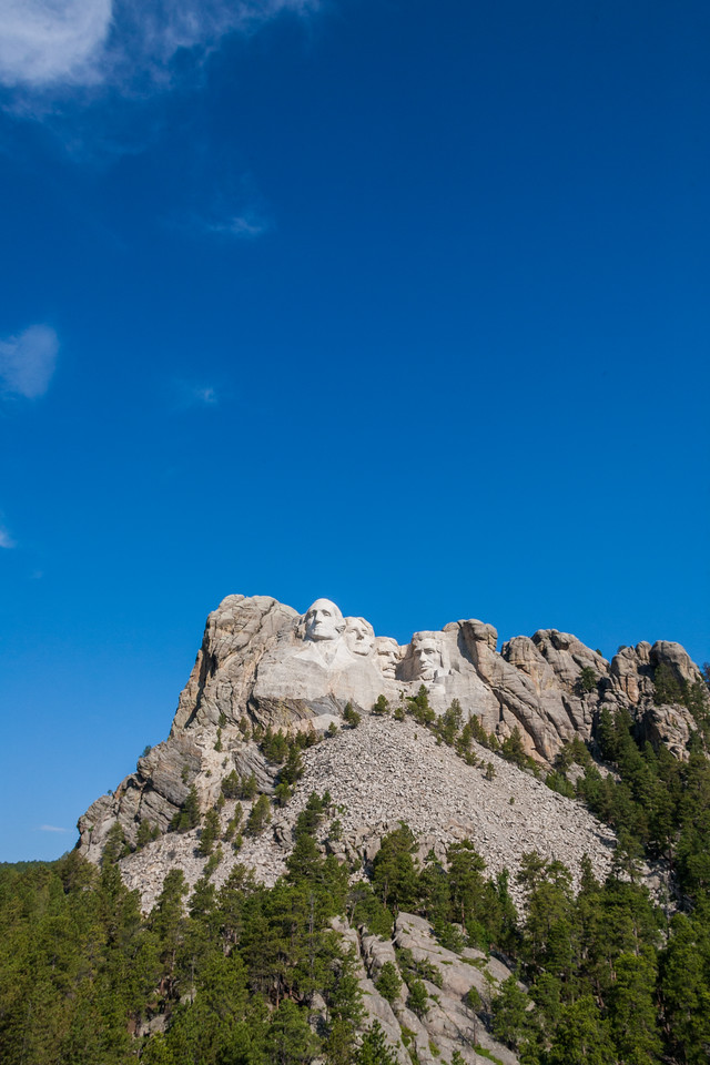 Mount Rushmore National Memorial - USA - South Dakota
