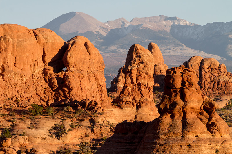 View of rock formation in Utah - USA