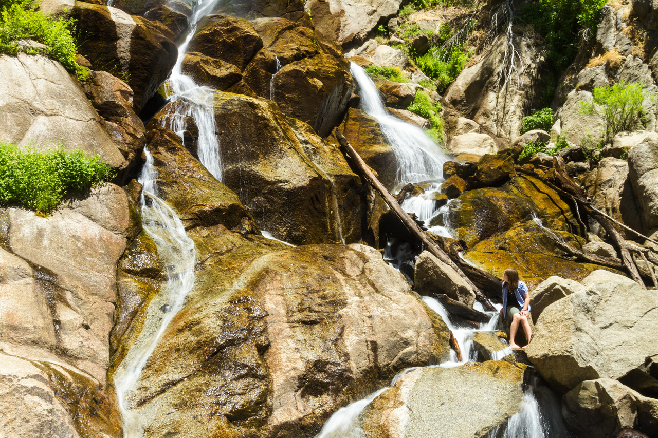 Waterfall at Kings Canyon National Park - USA - California