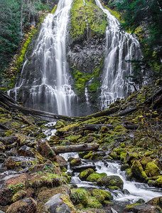 Proxy Falls, Central Oregon, USA, North America