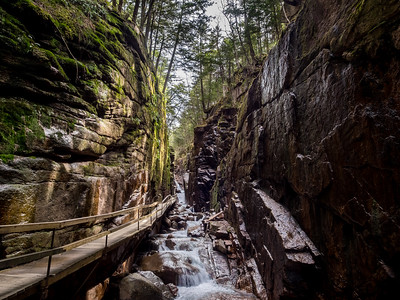 Flume Gorge, New Hampshire