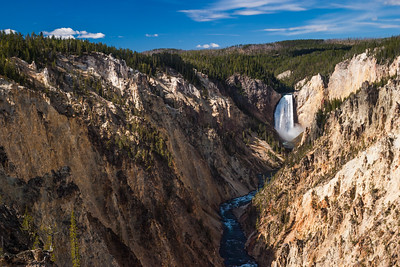 Yellowstone Falls In The Grand Canyon Of The Yellowstone