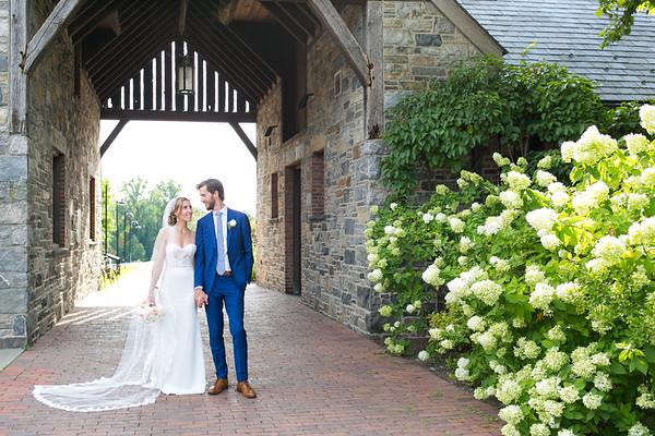 Intimate Blue Hill at Stone Barns Wedding