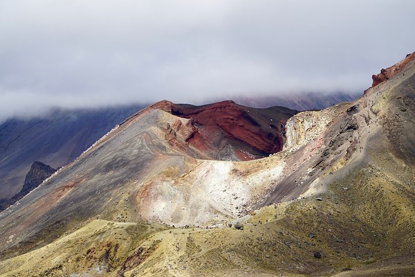 Tongariro Alpine Crossing, New Zealand