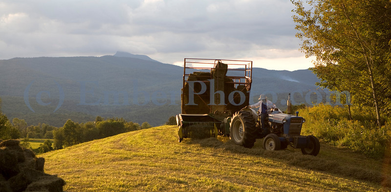 Farming in the Green Mountains, Vermont