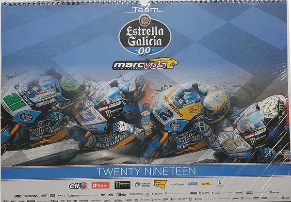 2019 Marc VDS wall calendar