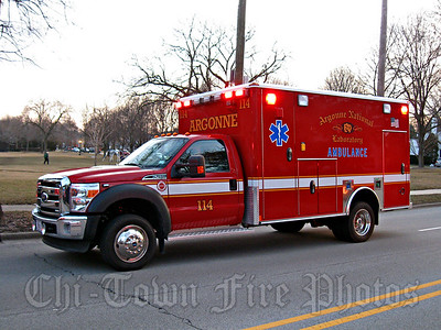 Argonne Laboratory Fire Department