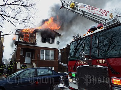 Cicero Working Fire @ 5742 W 24th St