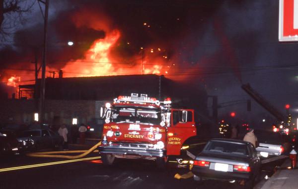 Berwyn Fires cermak & Ridgeland February 1987