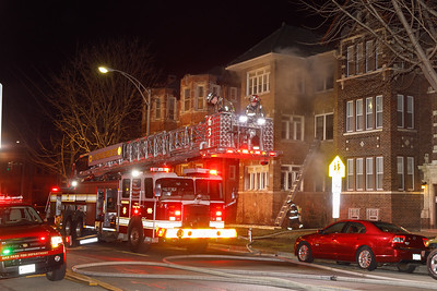 Oak Park 3rd Alarm  316 Washington