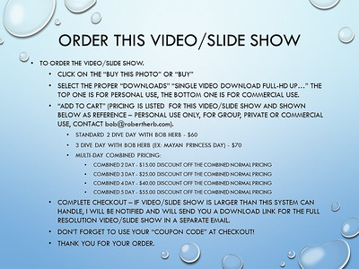 Robert Herb Photography - Large or Combined Video-Slide Shows Rev 1