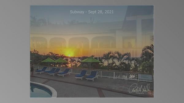 Subway - Sept 28, 2021