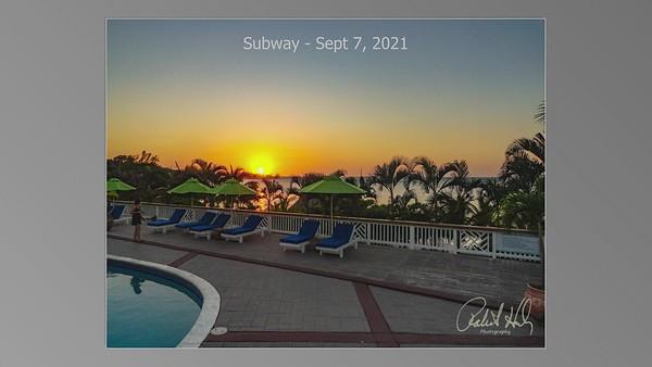 Subway - Sept 7, 2021