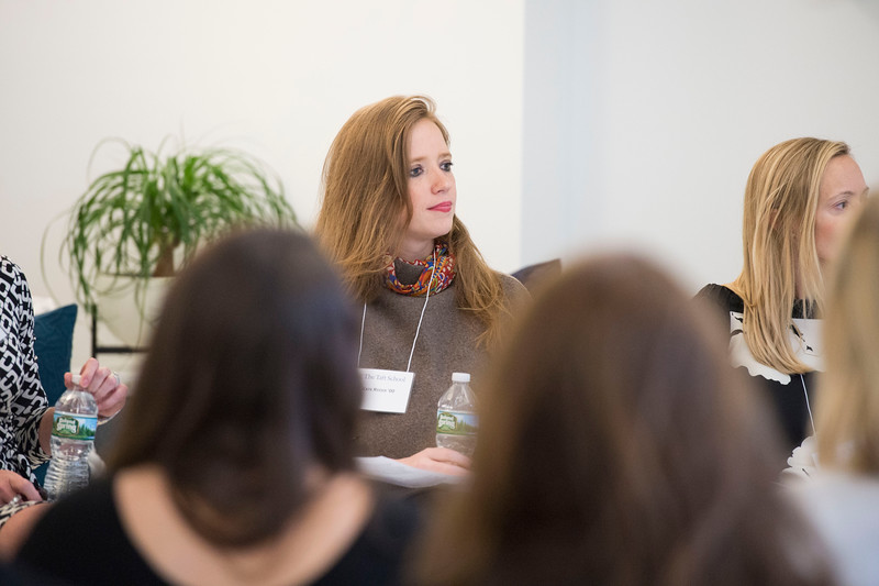 Panel discussion with alumnae entrepreneurs