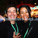 30-9-15. Chabad Youth annual Succot at Luna Park. Elliot and Sharon Susskind.  Photo: Peter Haskin