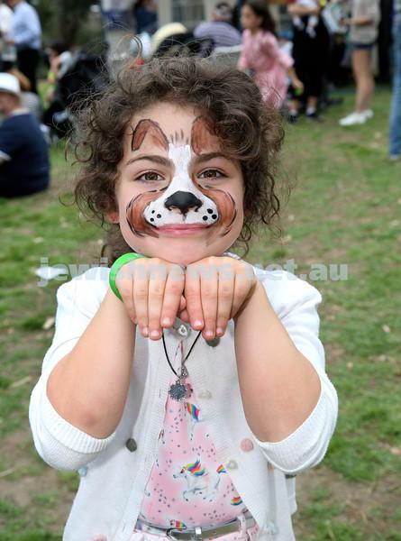 Succot at Taronga Zoo. Amelia Cairns. Pic Noel Kessel
