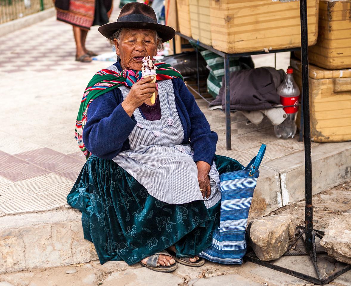 Tarabuco market near Sucre, Bolivia