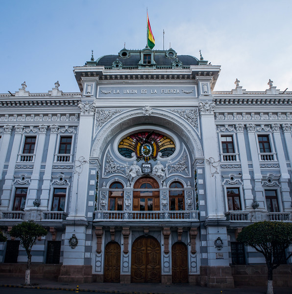 Former Palace of the National Government, Sucre, Bolivia
