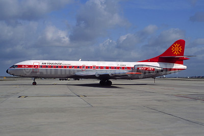 Air Toulouse International Sud Aviation SE.210 Caravelle 10B3 F-GHKN (msn 265) CDG (Christian Volpati). Image: 941012.