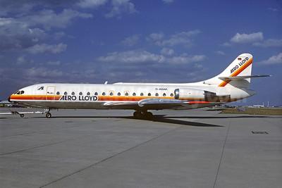Aero Lloyd Sud Aviation SE.210 Caravelle 10B1R D-ABAK (msn 232) FRA (Christian Volpati COllection). Image: 932262.