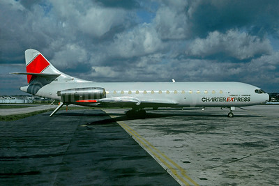 Airborne Charter Express (Midwest Air Charter) Sud Aviation SE.210 Caravelle 6R (F) N903MW (msn 89) ATL (Christian Volpati Collection). Image: 930415.