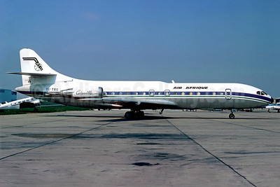 Air Afrique Sud Aviation SE.210 Caravelle 10R TU-TXQ (msn 201) (UTA colors) LBG (Christian Volpati). Image: 902298.