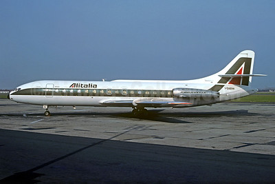 Alitalia (1st) (Linee Aeree Italiane) Sud Aviation SE.210 Caravelle 6N I-DABW (msn 150) TRN (Jacques Guillem Collection). Image: 932374.