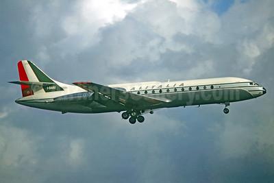 Alitalia (1st) (Linee Aeree Italiane) Sud Aviation SE.210 Caravelle 6N I-DABU (msn 77) ORY (Jacques Guillem Collection). Image: 927268.