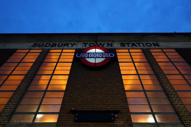 Sudbury Town Station