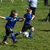 Soccer game, focused mainly on Peyton.   4/27/2019