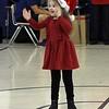 Peyton's first Christmas program, Elk Elementary, Ms. Martino's kindergarten class.  12/21/2018
