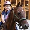 A girl who loves horses (Jax).  10/1/2018