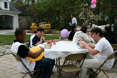 Ricardo, Scott, Aaron - Sue Glick retirement party 2007